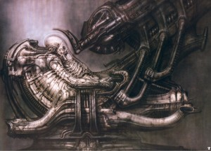 El Space jockey de Giger